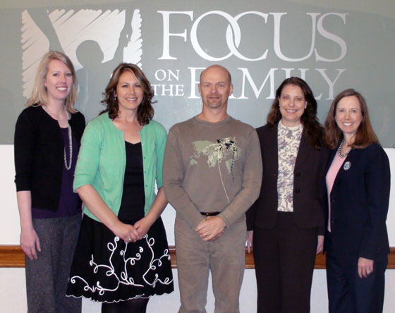 Lisa anderson focus on the family