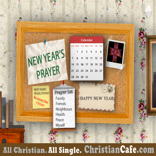 New Year Prayer for Christian Singles