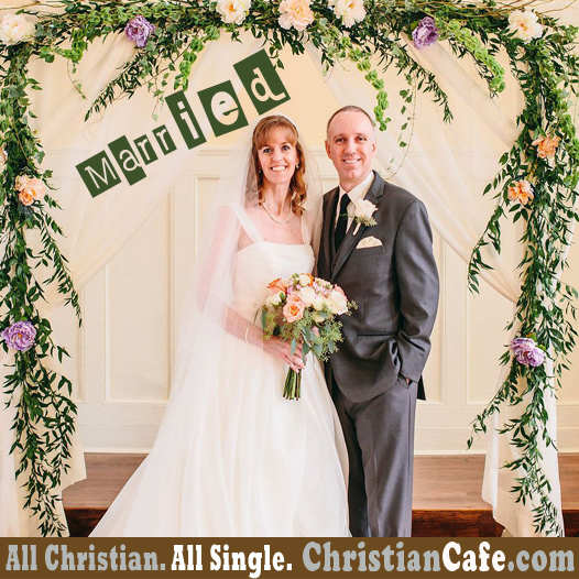 Christian Couple Jorraine and Steve in their Wedding day.