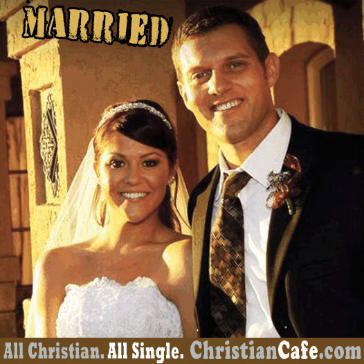 Christian couple met in ChristianCafe.com