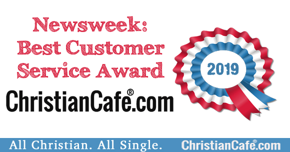 ChristianCafe.com Top Customer Service in Newsweek Award